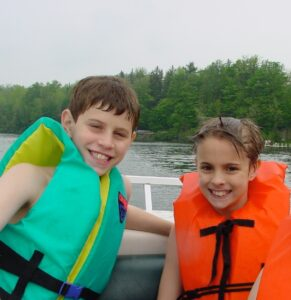 Nick and Noah age 11