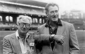 Harry with Ted Williams